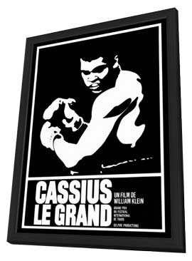 Cassius Le Grand - 27 x 40 Movie Poster - Foreign - Style A - in Deluxe Wood Frame