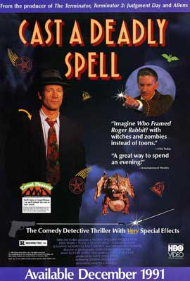 Cast a Deadly Spell - 11 x 17 Movie Poster - Style A