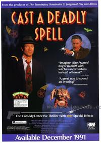Cast a Deadly Spell - 27 x 40 Movie Poster - Style A