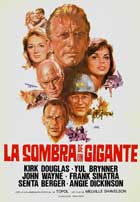 Cast a Giant Shadow - 11 x 17 Movie Poster - Spanish Style A
