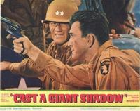 Cast a Giant Shadow - 11 x 14 Movie Poster - Style A