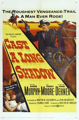 Cast A Long Shadow - 11 x 17 Movie Poster - Style A