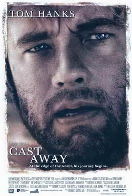 Cast Away - 27 x 40 Movie Poster - Style A