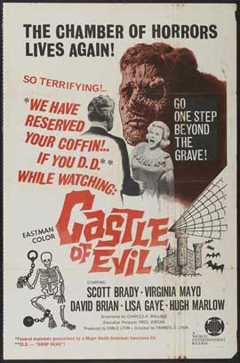 Castle of Evil - 27 x 40 Movie Poster - Style A