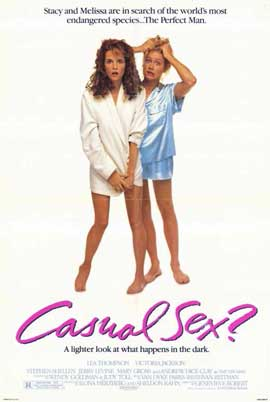 Casual Sex? - 11 x 17 Movie Poster - Style A