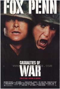 Casualties of War - 43 x 62 Movie Poster - Bus Shelter Style A