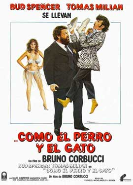 Cat and Dog - 11 x 17 Movie Poster - Spanish Style A
