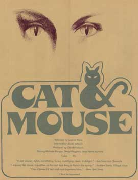 Cat and Mouse - 11 x 17 Movie Poster - Style A