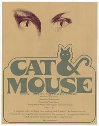 Cat and Mouse - 27 x 40 Movie Poster - Style A