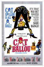Cat Ballou - 11 x 17 Movie Poster - Style A
