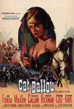 Cat Ballou - 11 x 17 Movie Poster - Style B