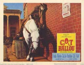 Cat Ballou - 11 x 14 Movie Poster - Style D