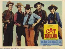 Cat Ballou - 11 x 14 Movie Poster - Style E