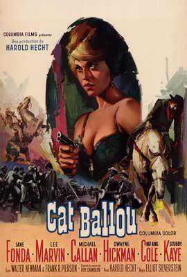 Cat Ballou - 27 x 40 Movie Poster - Style B