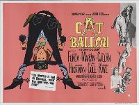 Cat Ballou - 30 x 40 Movie Poster UK - Style A