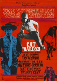 Cat Ballou - 27 x 40 Movie Poster - German Style A