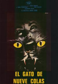 Cat o' Nine Tails - 11 x 17 Movie Poster - Italian Style A
