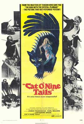 Cat o' Nine Tails - 27 x 40 Movie Poster - Style A