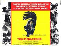 Cat o' Nine Tails - 22 x 28 Movie Poster - Half Sheet Style A