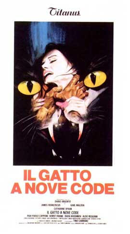 Cat o' Nine Tails - 11 x 17 Movie Poster - Italian Style B