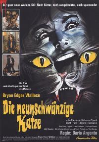 Cat o' Nine Tails - 11 x 17 Movie Poster - German Style A
