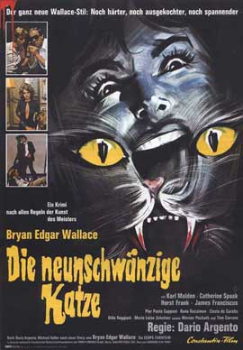 Cat o' Nine Tails - 27 x 40 Movie Poster - German Style A