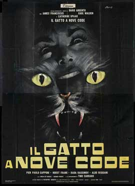 Cat o' Nine Tails - 27 x 40 Movie Poster - Italian Style A