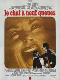 Cat o' Nine Tails - 11 x 17 Movie Poster - French Style A