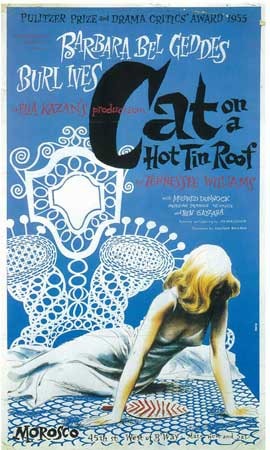 Cat On A Hot Tin Roof (Broadway) - 14 x 22 Poster - Style A