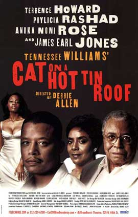 Cat on a Hot Tin Roof (Broadway) - 27 x 40 Poster - Style A