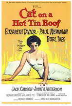 Cat on a Hot Tin Roof - 27 x 40 Movie Poster - Style A