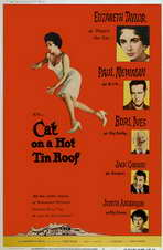 Cat on a Hot Tin Roof - 11 x 17 Movie Poster - Style E
