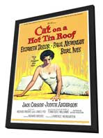Cat on a Hot Tin Roof - 27 x 40 Movie Poster - Style A - in Deluxe Wood Frame