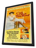 Cat on a Hot Tin Roof - 14 x 36 Movie Poster - Insert Style A - in Deluxe Wood Frame