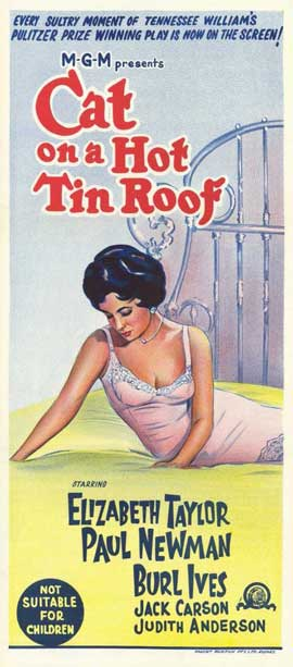 Cat on a Hot Tin Roof - 11 x 17 Movie Poster - Style B