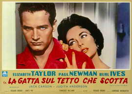 Cat on a Hot Tin Roof - 11 x 17 Poster - Foreign - Style A