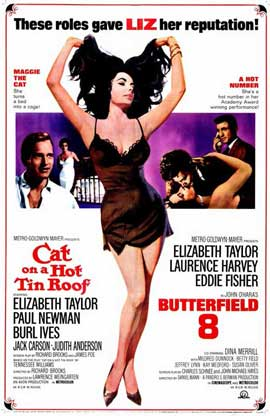 Cat on a Hot Tin Roof - 11 x 17 Movie Poster - Style C