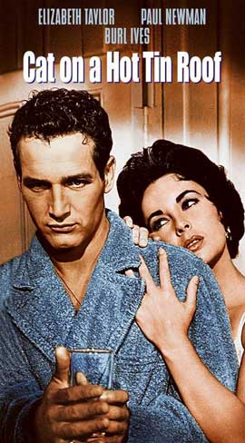 Cat on a Hot Tin Roof - 11 x 17 Movie Poster - Style D