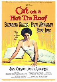 Cat on a Hot Tin Roof - 43 x 62 Movie Poster - Bus Shelter Style A