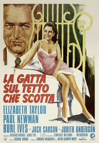 Cat on a Hot Tin Roof - 11 x 17 Movie Poster - Italian Style A
