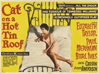 Cat on a Hot Tin Roof - 30 x 40 Movie Poster UK - Style A