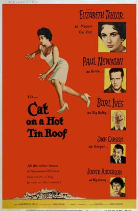 Cat on a Hot Tin Roof - 27 x 40 Movie Poster - Style B