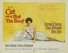 Cat on a Hot Tin Roof - 11 x 14 Movie Poster - Style D