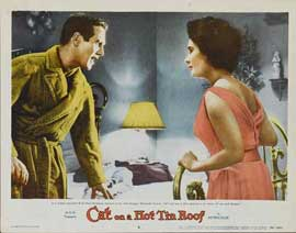 Cat on a Hot Tin Roof - 11 x 14 Movie Poster - Style E