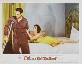 Cat on a Hot Tin Roof - 11 x 14 Movie Poster - Style F