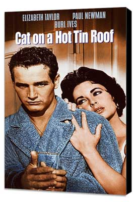 Cat on a Hot Tin Roof - 11 x 17 Movie Poster - Style D - Museum Wrapped Canvas