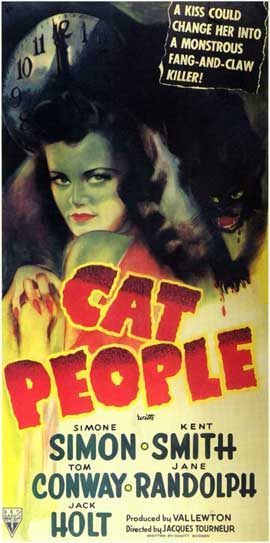 Cat People - 11 x 17 Movie Poster - Style B