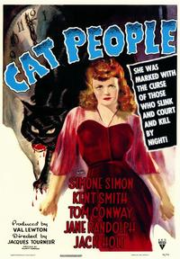 Cat People - 43 x 62 Movie Poster - Bus Shelter Style A