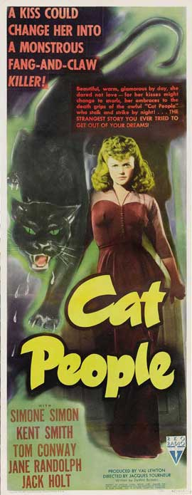 Cat People - 14 x 36 Movie Poster - Insert Style A