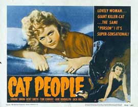 Cat People - 11 x 14 Poster UK Style A